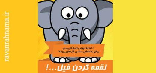 کتاب لقمه کردن فیل