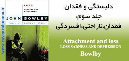 کتاب دلبستگی و فقدان جلد سوم: فقدان ، ناراحتی و افسردگی