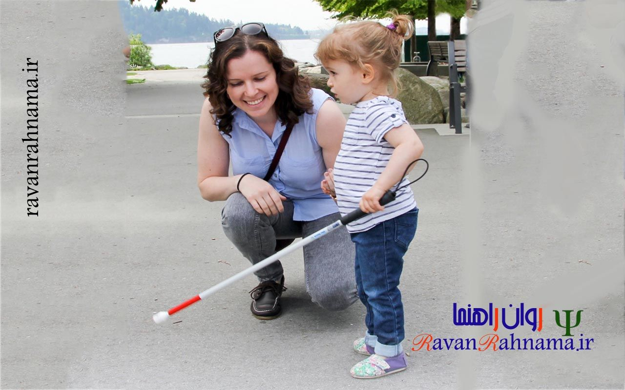 توانبخشی کودکان نابینا