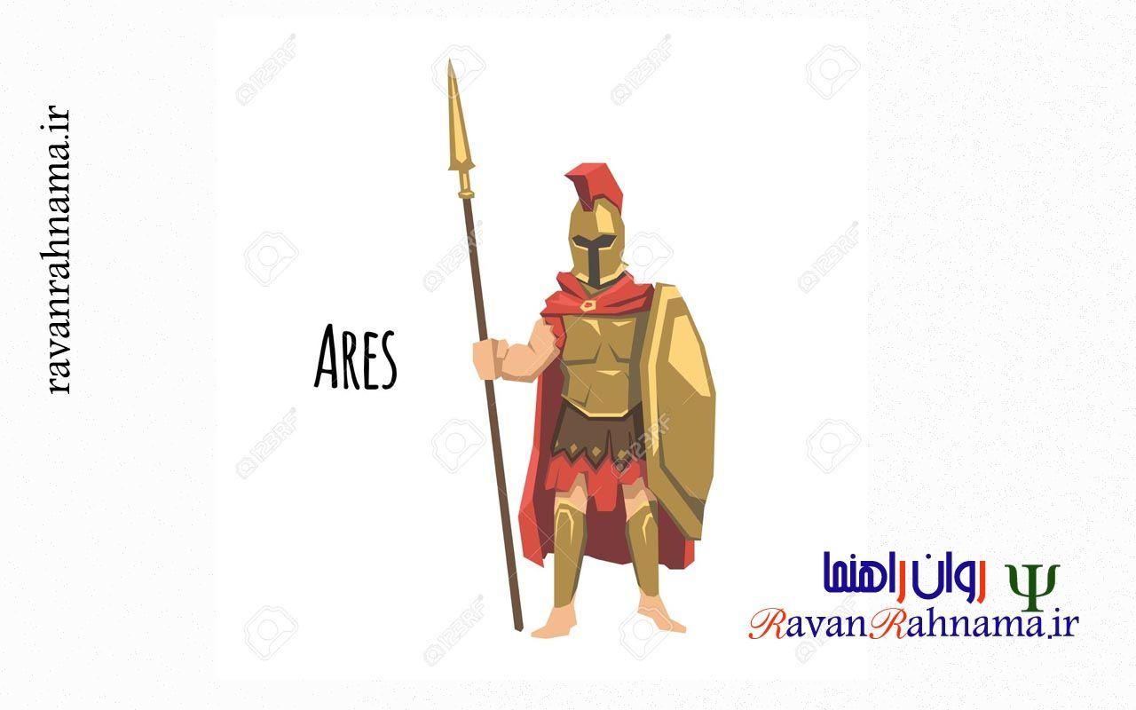 شخصیت آرکیتایپی آرس (مریخ)
