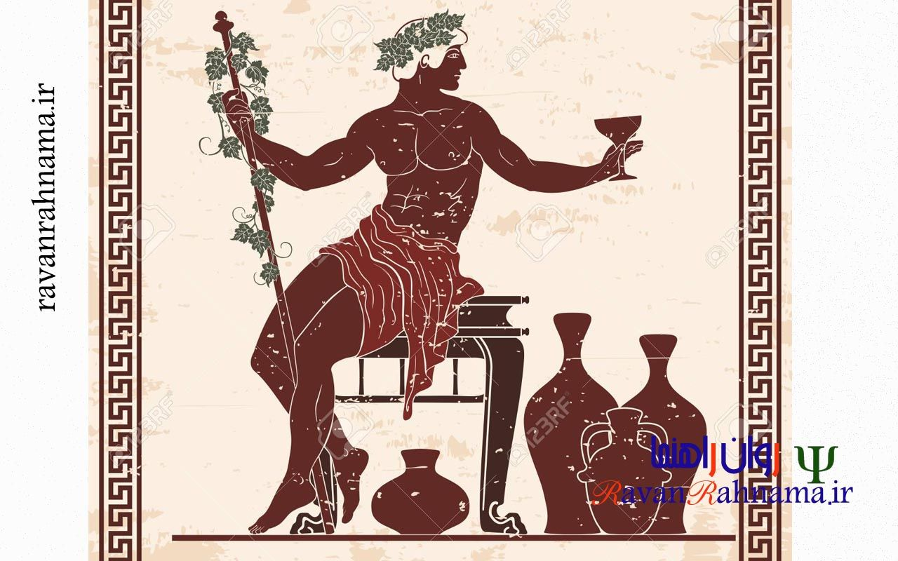 شخصیت آرکیتایپی دیونیسوس (باکوس)